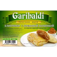 Блинчики с кремовой начинкой  (со вкусом вареной сгущенки)