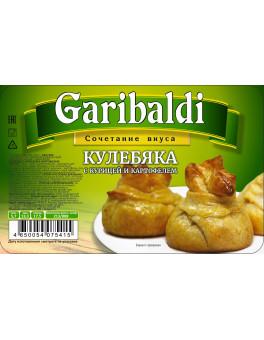 """Кулебяка """"С курицей и картофелем"""""""