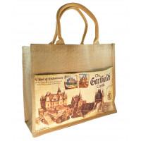 Пляжная сумка из джута.