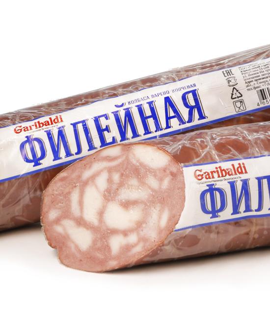 Колбаса варено - копченая  «Филейная»